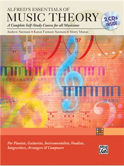 Alfred's Essentials of Music Theory: A Complete Self-Study Course for All Musicians Bk/2CD Books and CDs |