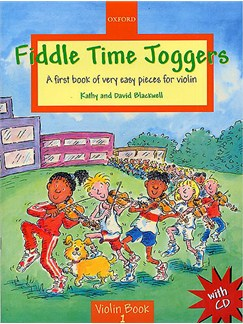 Kathy And David Blackwell: Fiddle Time Joggers (With CD) Books and CDs | Violin