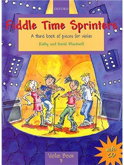Kathy And David Blackwell: Fiddle Time Sprinters Bog og CD | Violin