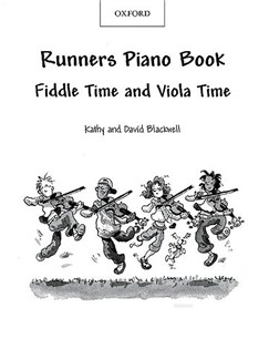 Kathy And David Blackwell: Runners Piano Book Books | Piano Accompaniment