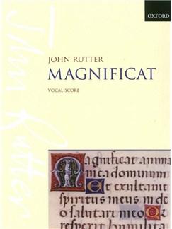 John Rutter: Magnificat (Vocal Score) Books | Soprano or Mezzo-Soprano Solo,  SATB, Piano (Organ) Accompaniment