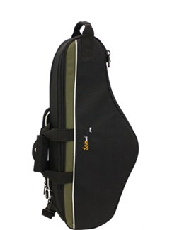Tom And Will: 33AS Alto Saxophone Gig Bag (Black and Olive)  | Saxophone