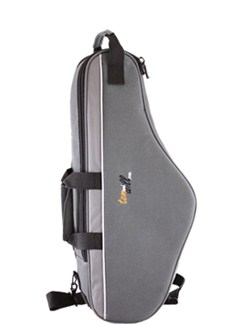 Tom And Will: 33AS Alto Saxophone Gig Bag (Three Tone Grey)  | Saxophone