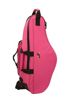 Tom And Will: 33AS Alto Saxophone Gig Bag (Hot Pink)  | Saxophone