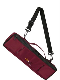 Tom And Will: 33FCC Flute Case Cover - Burgundy  | Flute