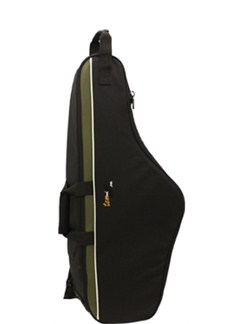 Tom And Will: 33TS Tenor Saxophone Gig Bag (Black and Olive)  | Saxophone