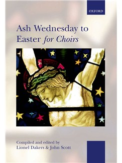 Ash Wednesday To Easter For Choirs (Standard Edition) Books | SATB, Organ Accompaniment