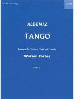 Isaac Albeniz: Tango Op.165 No.2 (Arr. Watson Forbes) Books | Violin, Piano Accompaniment