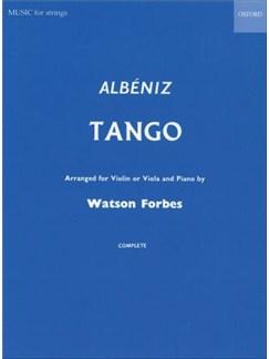 Isaac Albeniz: Tango Op.165 No.2 (Arr. Watson Forbes) Books | Violin, Piano Accompaniment