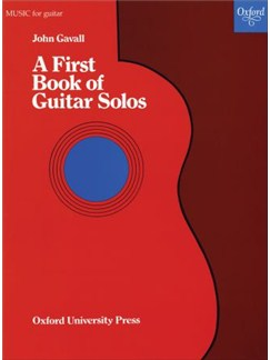 John Gavall: A First Book Of Guitar Solos Books | Guitar