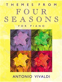 Themes From Four Seasons For Piano Books | Piano