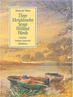 Three Mendelssohn Songs Without Words Books |