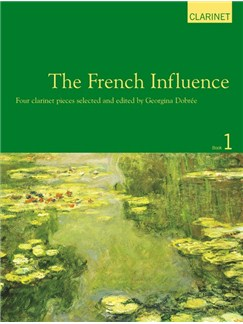 The French Influence For Clarinet Books | Clarinet, Piano Accompaniment