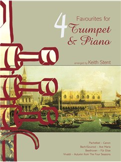 4 Favourites For Trumpet And Piano Books | Trumpet