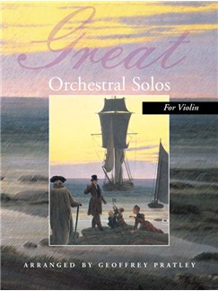 Great Orchestral Solos For Violin Books | Violin