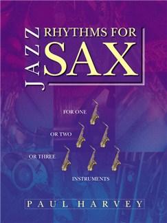 Jazz Rhythms For Sax Books | Saxophone