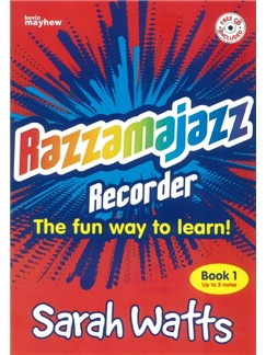 Razzamajazz Recorder Book 1: Five Note Fiesta Bog og CD | Sopranblokfløjte