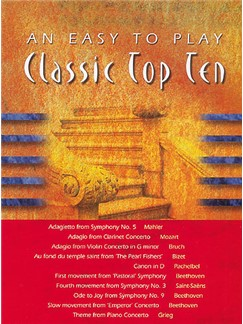 An Easy To Play Classic Top Ten Books | Piano