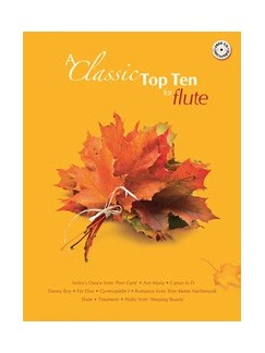 A Classic Top Ten For Flute Books and CDs | Flute, Piano Accompaniment