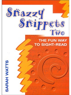 Sarah Watts: Snazzy Snippets Book Two Books | Piano