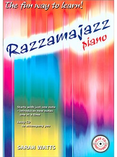 Sarah Watts: Razzamajazz Piano Books and CDs | Piano