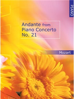 Andante From Piano Concerto No 21 Books | Piano