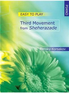 Nicolai Rimsky Korsakov: Third Movement From Sheherazade - Easy Piano Books | Piano