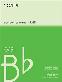 Bassoon Concerto In Bb Kv191 Books | Bassoon