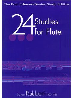 24 Studies For Flute Books | Flute