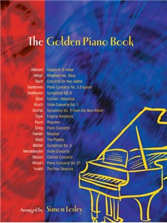 The Golden Piano Book Books | Piano