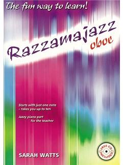 Sarah Watts: Razzamajazz Oboe Books and CDs | Oboe, Piano Accompaniment