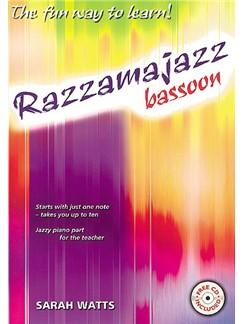 Sarah Watts: Razzamajazz Bassoon (Book And CD) Books and CDs | Bassoon, Piano Accompaniment