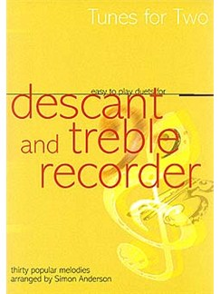 Easy To Play Duets For Descant And Treble Recorder Books   Soprano (Descant) Recorder/Alto (Treble) Recorder