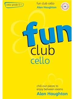 Alan Haughton: Fun Club Cello - Grade 0 - 1 Books and CDs | Cello