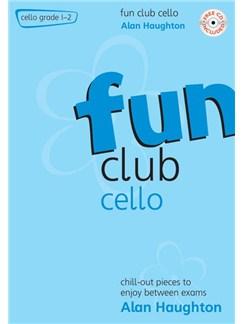 Alan Haughton: Fun Club Cello - Grade 1 - 2 Books and CDs | Cello