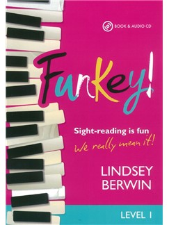 Lindsey Berwin: FunKey! - Level 1 (Book/CD) Books and CDs | Piano