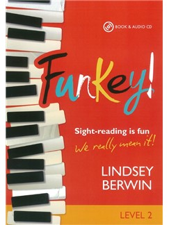 Lindsey Berwin: FunKey! - Level 2 (Book/CD) Books and CDs | Piano
