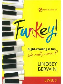 Lindsey Berwin: FunKey! - Level 3 (Book/2 CDs) Books and CDs | Piano
