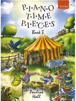 Pauline Hall: Piano Time Pieces Book 3 (2004 Edition) Books | Piano