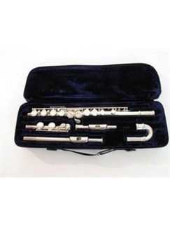 Trevor James: 3FKV-CDE Vivace Curved & Straight Flute Outfit Instruments | Flute