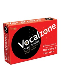 Vocalzone - Throat Pastilles (Pack of 24)  | Voice
