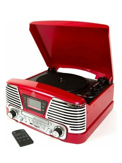 Protelx Limited: GPO Memphis Record Player - Red  |