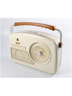 Protelx Limited: GPO Rydell Nostalgic Radio (Four Band) - Cream  |