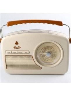 Protelx Limited: GPO Rydell Nostalgic Radio (DAB) - Cream  |