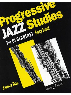 James Rae: Progressive Jazz Studies Easy Level (B Flat Clarinet) Books | Clarinet