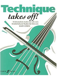 Mary Cohen: Technique Takes Off! (Viola) Books | Viola