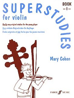 Mary Cohen: Superstudies Book 1 Violin Books | Violin