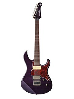 Yamaha: Pacifica 611 Electric Guitar (Purple) Instruments | Electric Guitar
