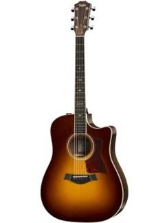 Taylor: 710CE Rosewood Dreadnought 6 String Sunburst Guitar ES1 Instruments | Guitar