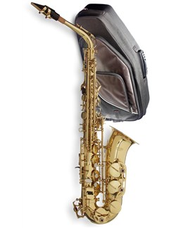 Stagg: E Flat Alto Saxophone With Soft Case Instruments | Alto Saxophone